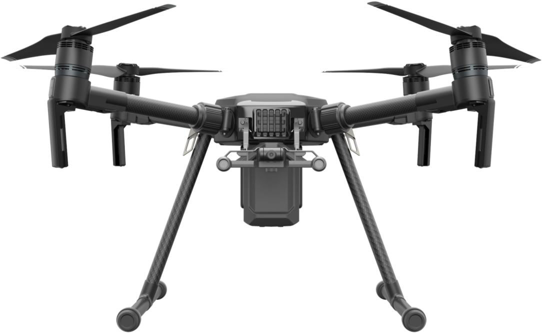 DJI™ Matrice 200/210 - Max. Flight time (minutes): 38 minutesMax. Speed (mph): 51 mphMax. Wind Resistance (mph): 22 mphWeight With Battery and Prop (lbs): 1.6 lbsBattery Type and Capacity (mAh):LiPo, 4280Swappable Camera: YesSupported Cameras/Sensors: Zenmuse XT, Zenmuse Z30, Zenmuse X4S,Zenmuse X5S