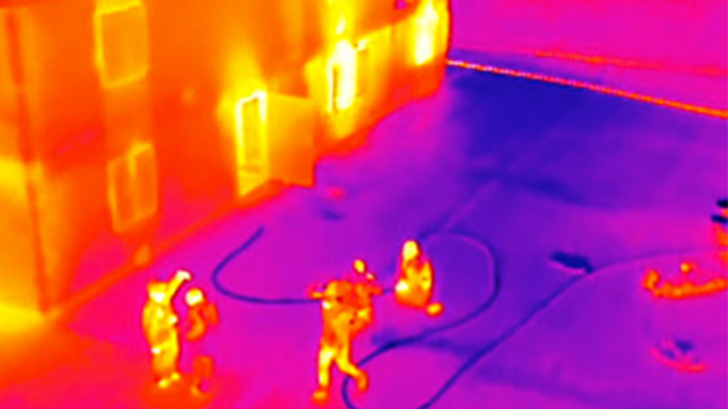 DJI™ 's Zenmuse XT is powered by FLIR, and has seamless integration in many DJI™ drones. It allows agencies to lead search and rescue missions, identify persons and things of interest, and detect hazardous areas.  Image from dji.com/zenmuse-xt.