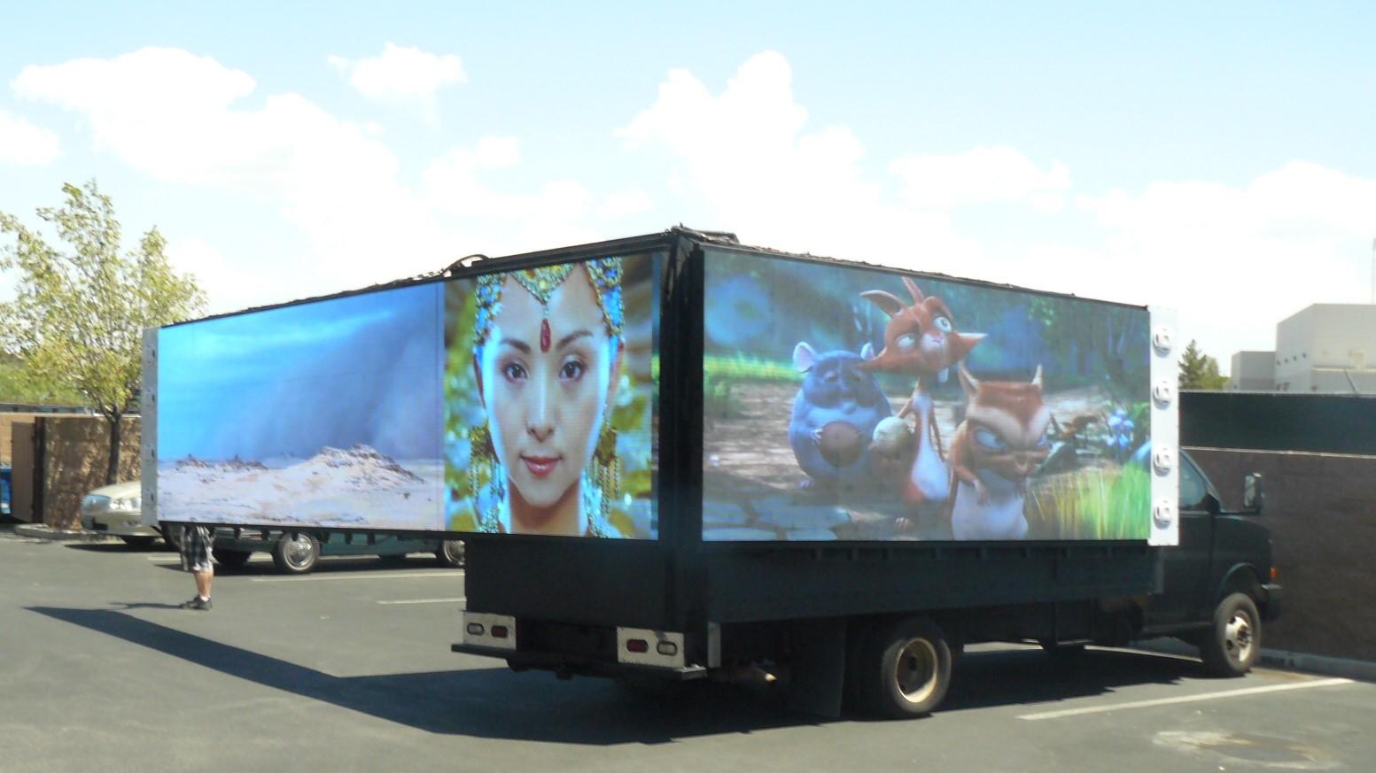 Digital Mobile Billboard Advertising Trucks — FTL Displays