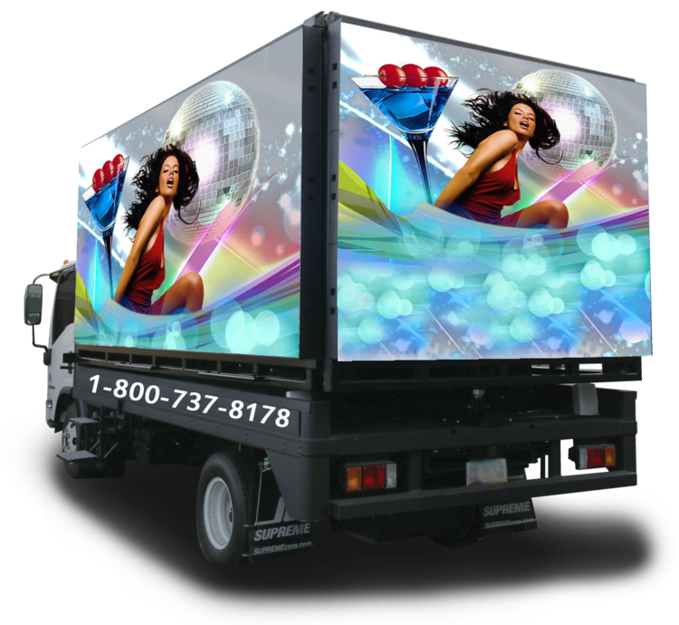 Digital Mobile Billboard Advertising Trucks — FTL Displays