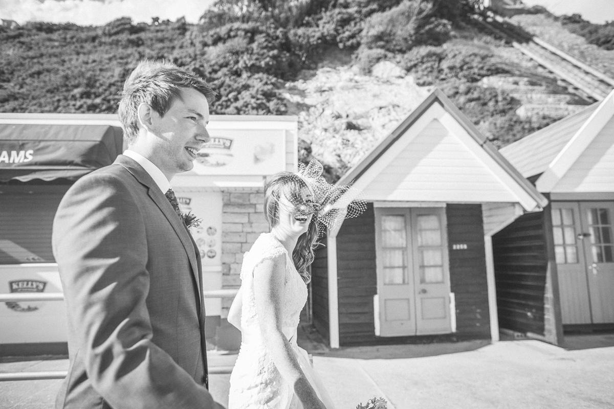 Bournemouth breach wedding by documentary photograper emma lucy
