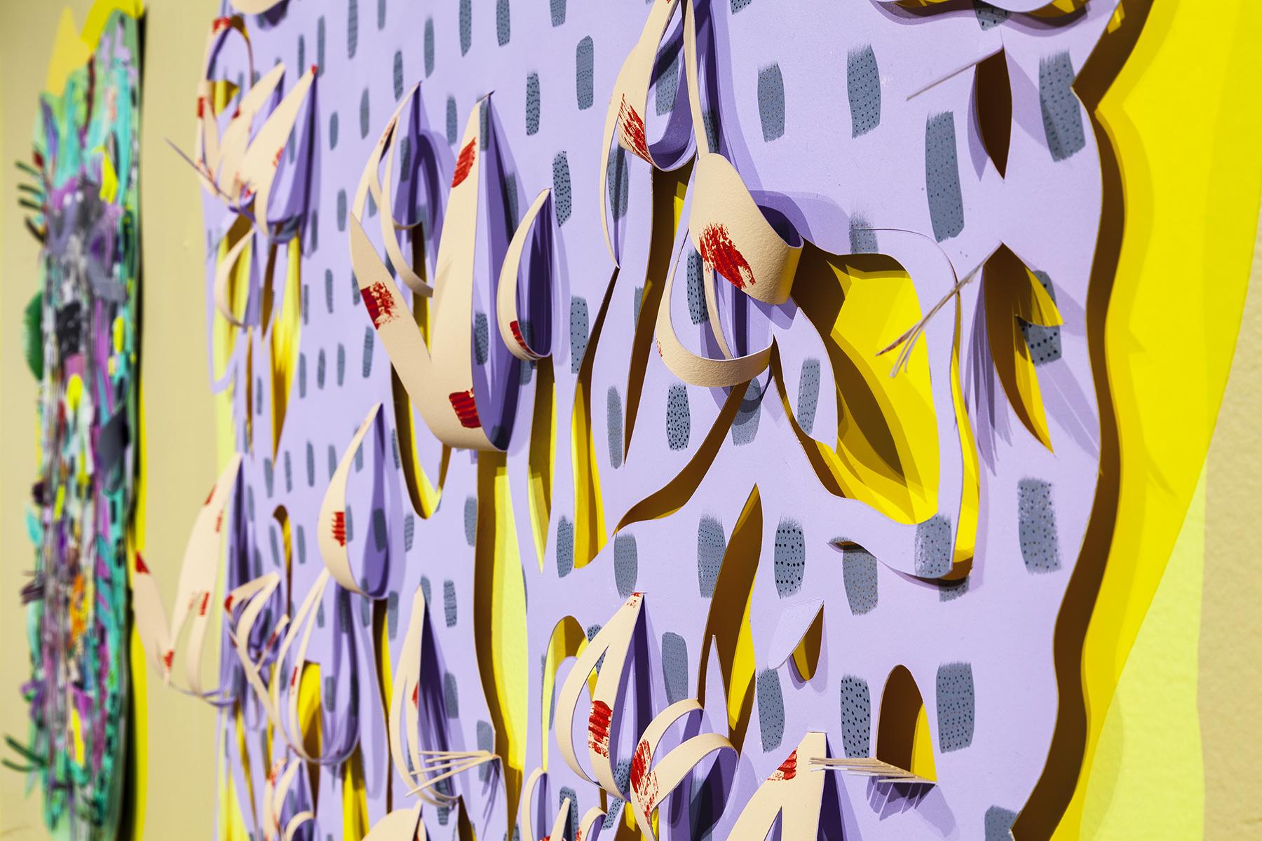 Decro Foliage, detail