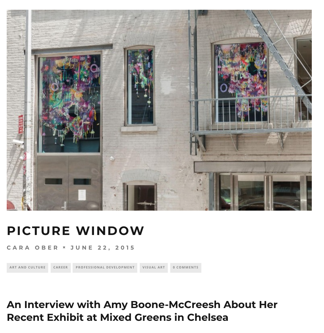 Interview with BmoreArt for