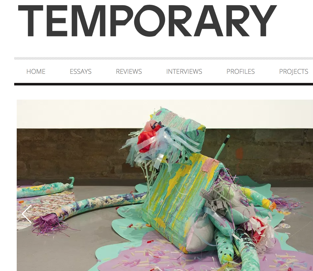 Interview with Temporary, 2015 -