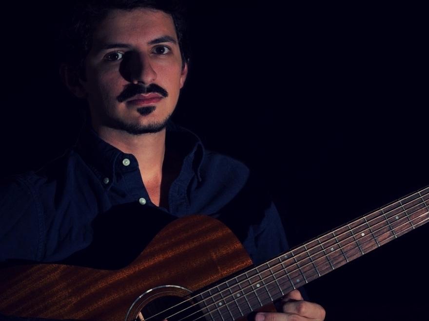 Elias Serpa, Composer of Let Me Breathe ( Photo by Miguel Rama Torres)