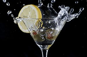 Martini Spash (Photo credit: Wikipedia)