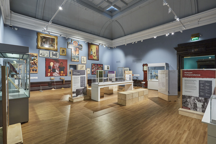 The Past is Now  exhibition at the BMAG.