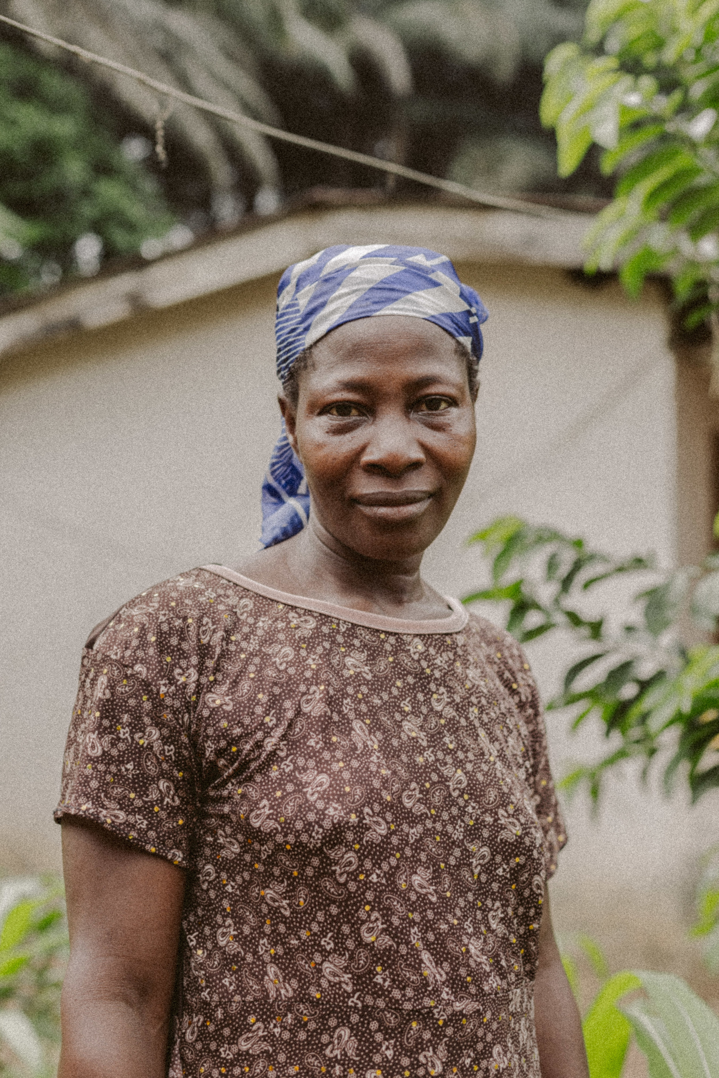 Emmanuel's adoptive Mum. The woman who promised her friend to take care of her only son, despite the fact that her husband was late.