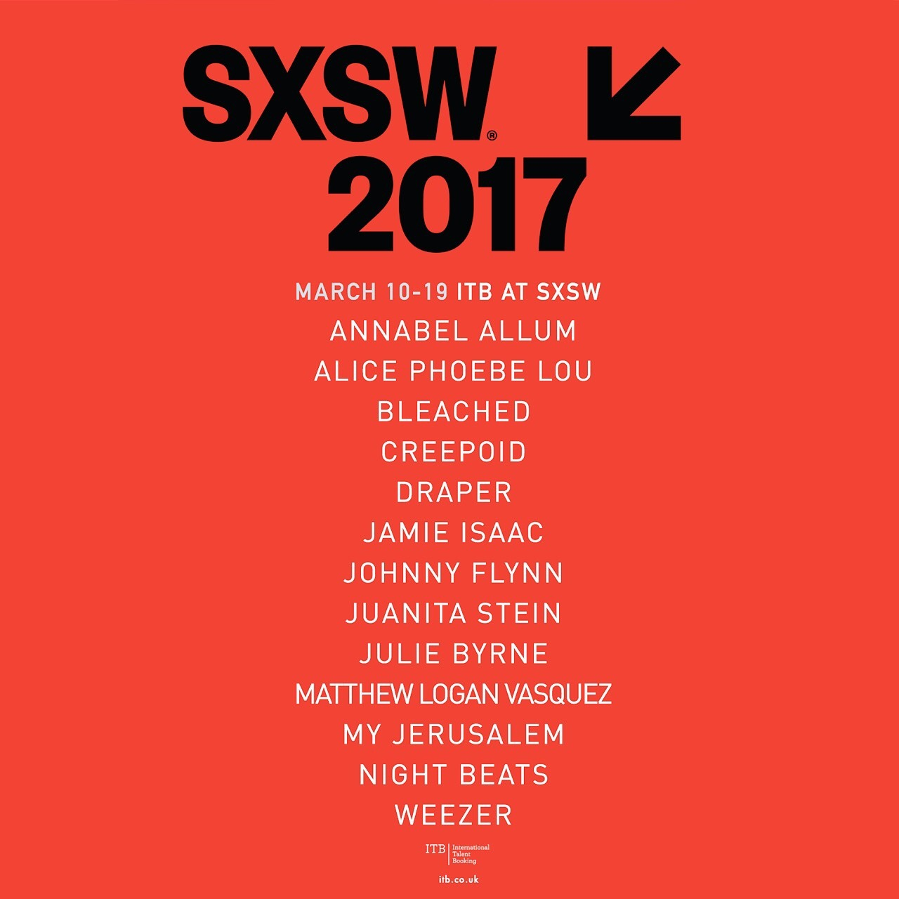 🎈🎈🎈Psyched to be playing SXSW this year!!! ✨🌟✨🌟