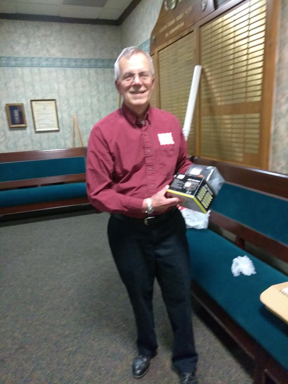 Tom Pinard WB8WGX - Tom chooses the SWR/ Wattmeter.
