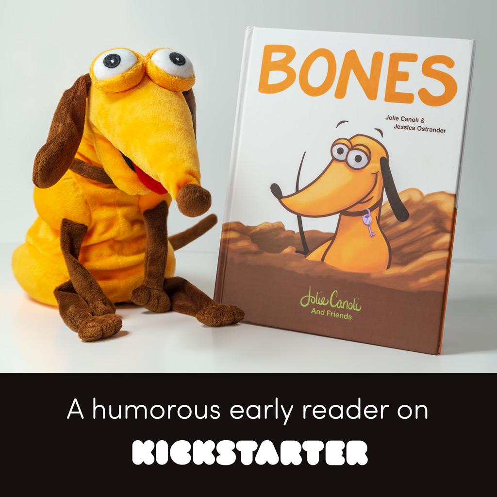 Kickstarter Book early reader by Jolie Canoli and Friends.jpg