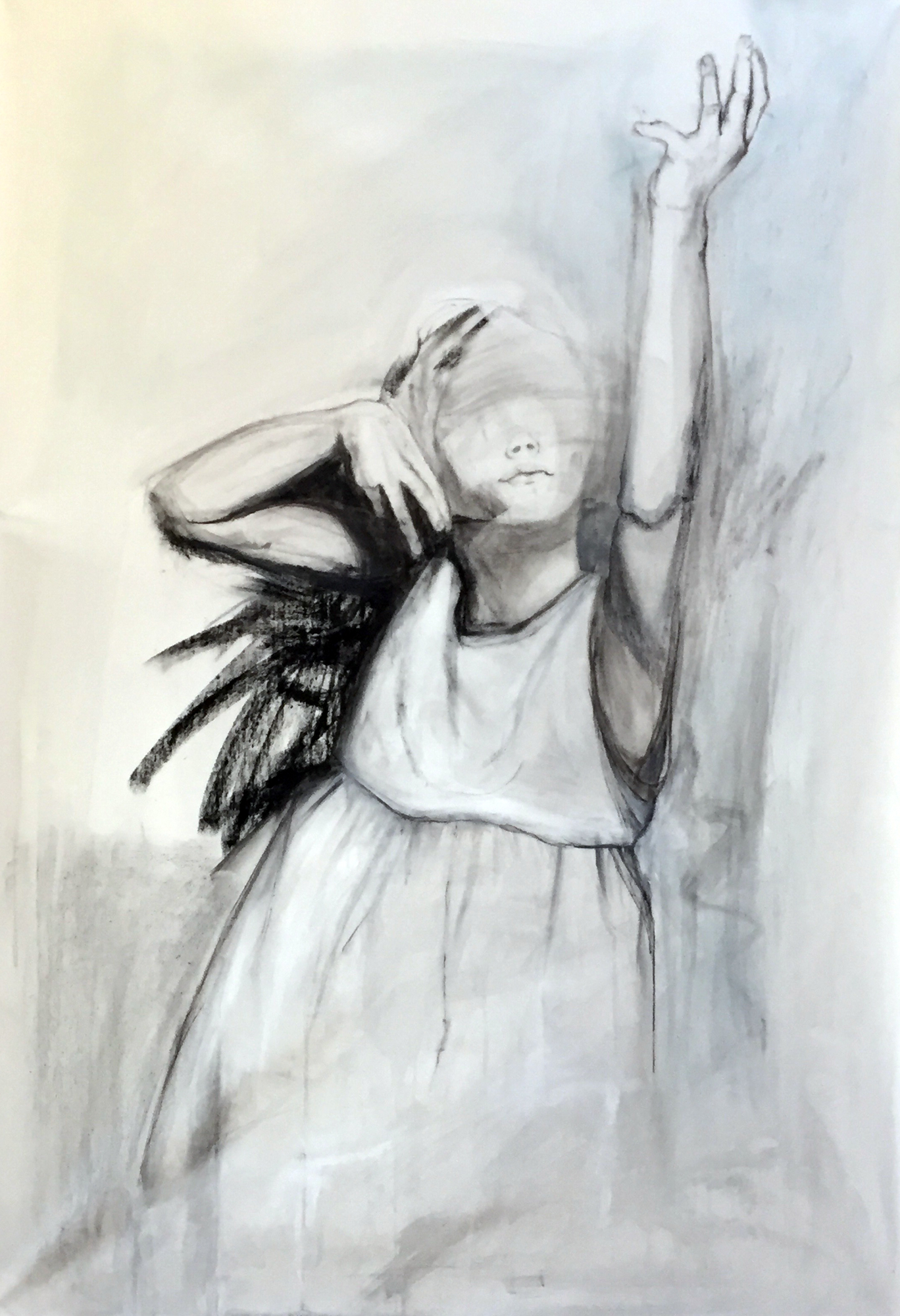 "WINGED    ""60"" x 48"""" 