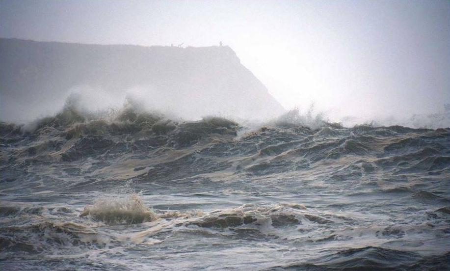 Stormy waters off Mendocino coast