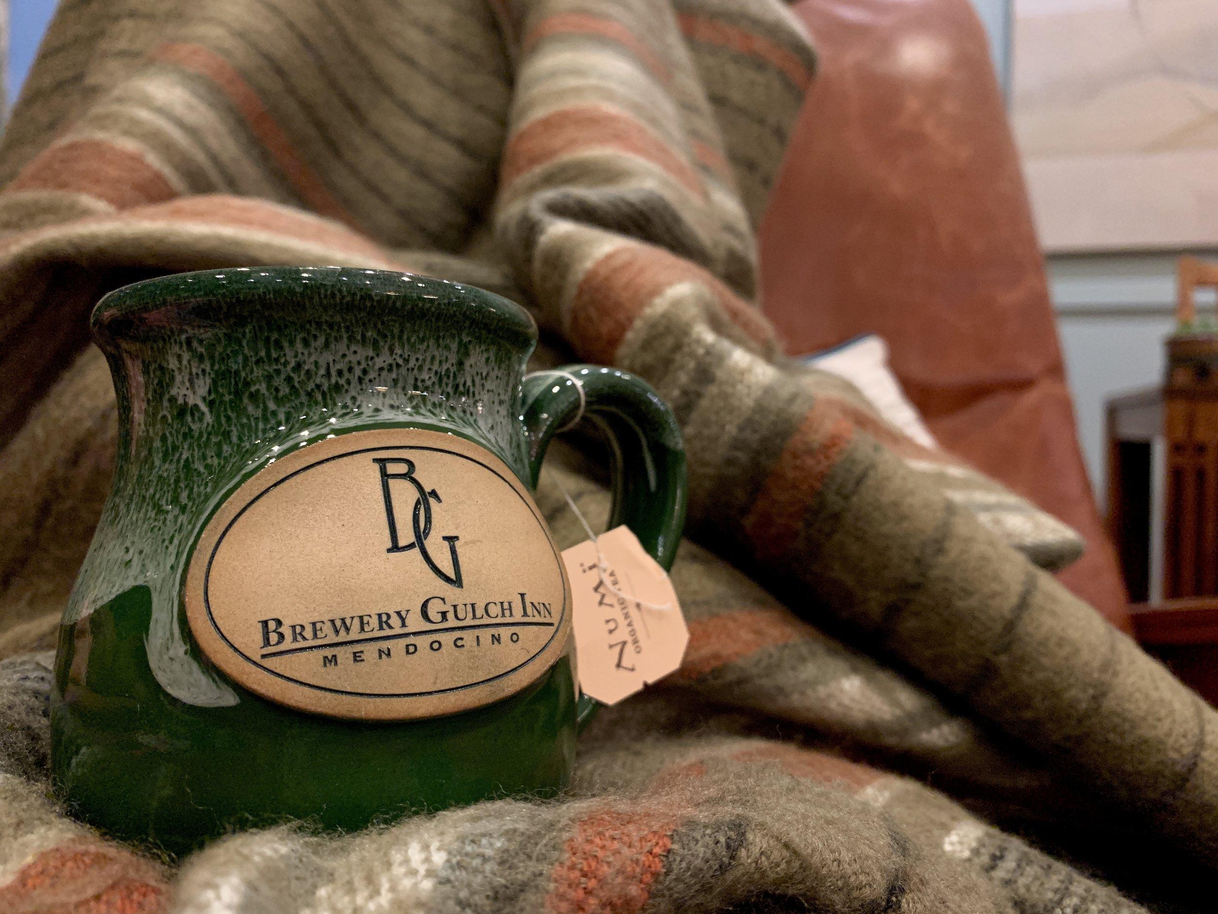 A BGI mug of tea