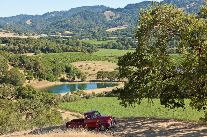 The beautiful Anderson Valley