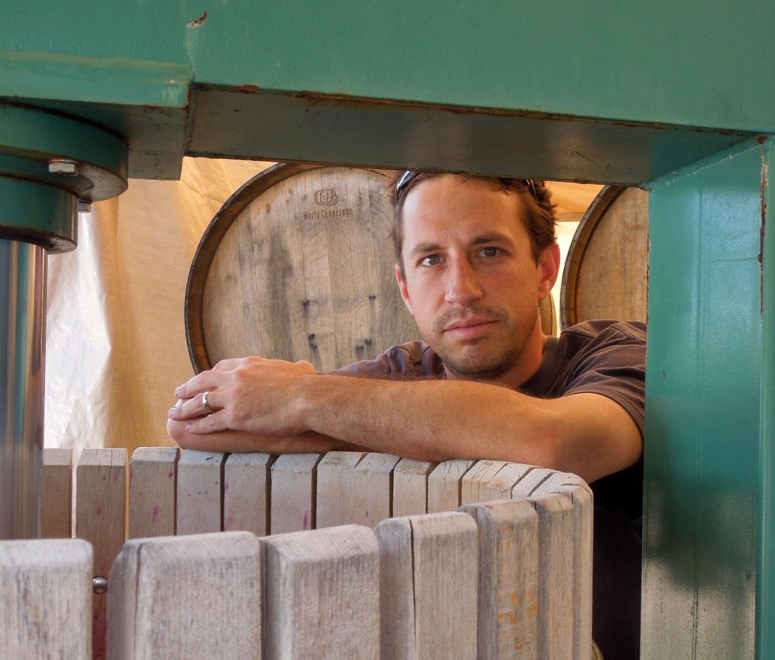 Wine maker Phil Baxter Jr.
