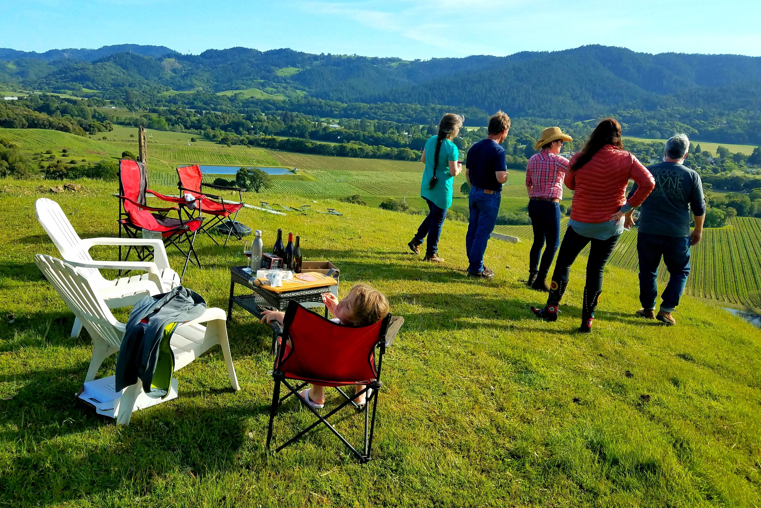 How about a private tasting above the Anderson Valley?