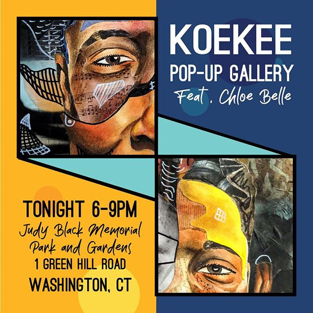 Come enjoy this great night of art and music! @koekee #weloveart #welovemusic