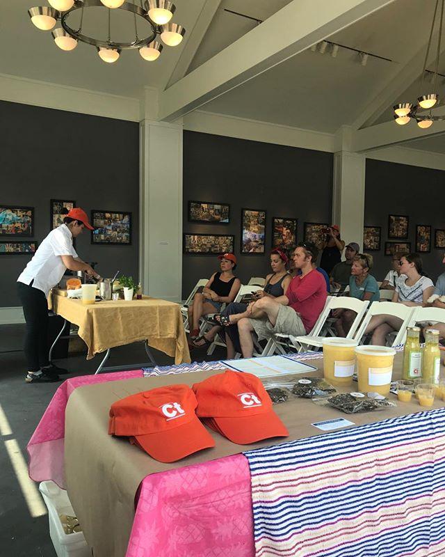 Chef demo, happening now at the farmers market! #farmersmarket #thingstodoinwashingtondepot