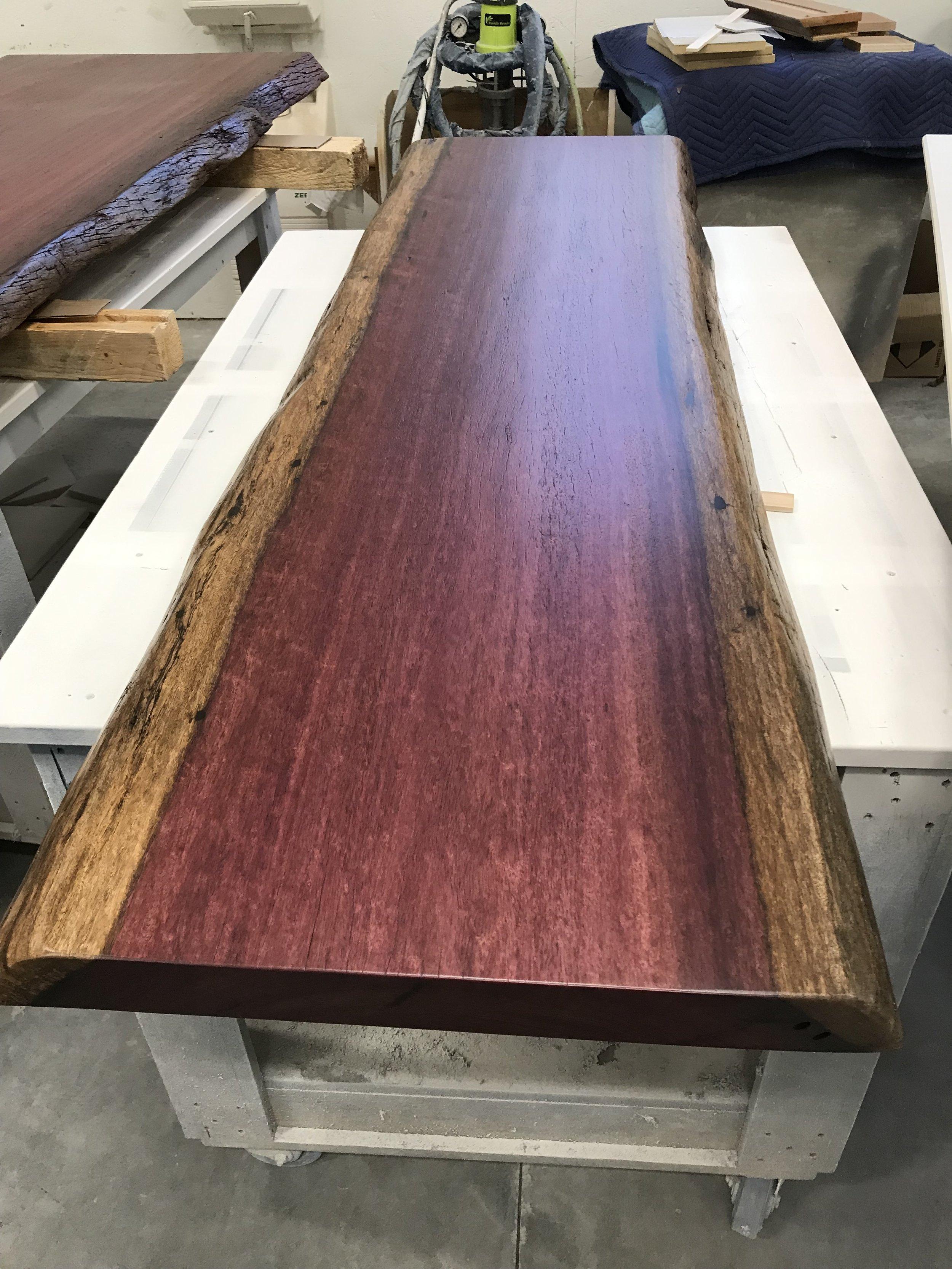 Finished Purple Heart - Reclaimed - $1500