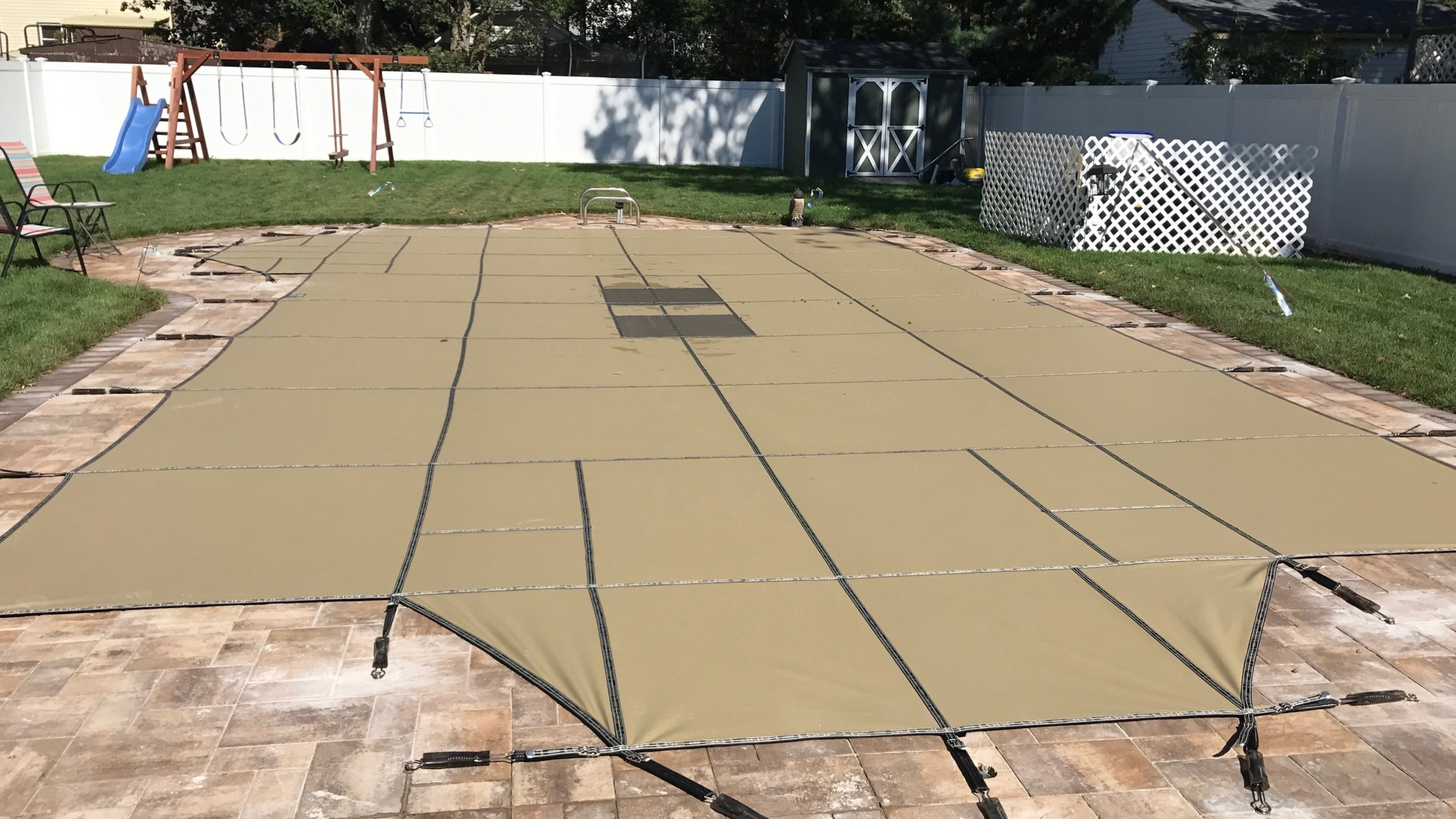 Tan Ultra Loc Solid with Drain Panels