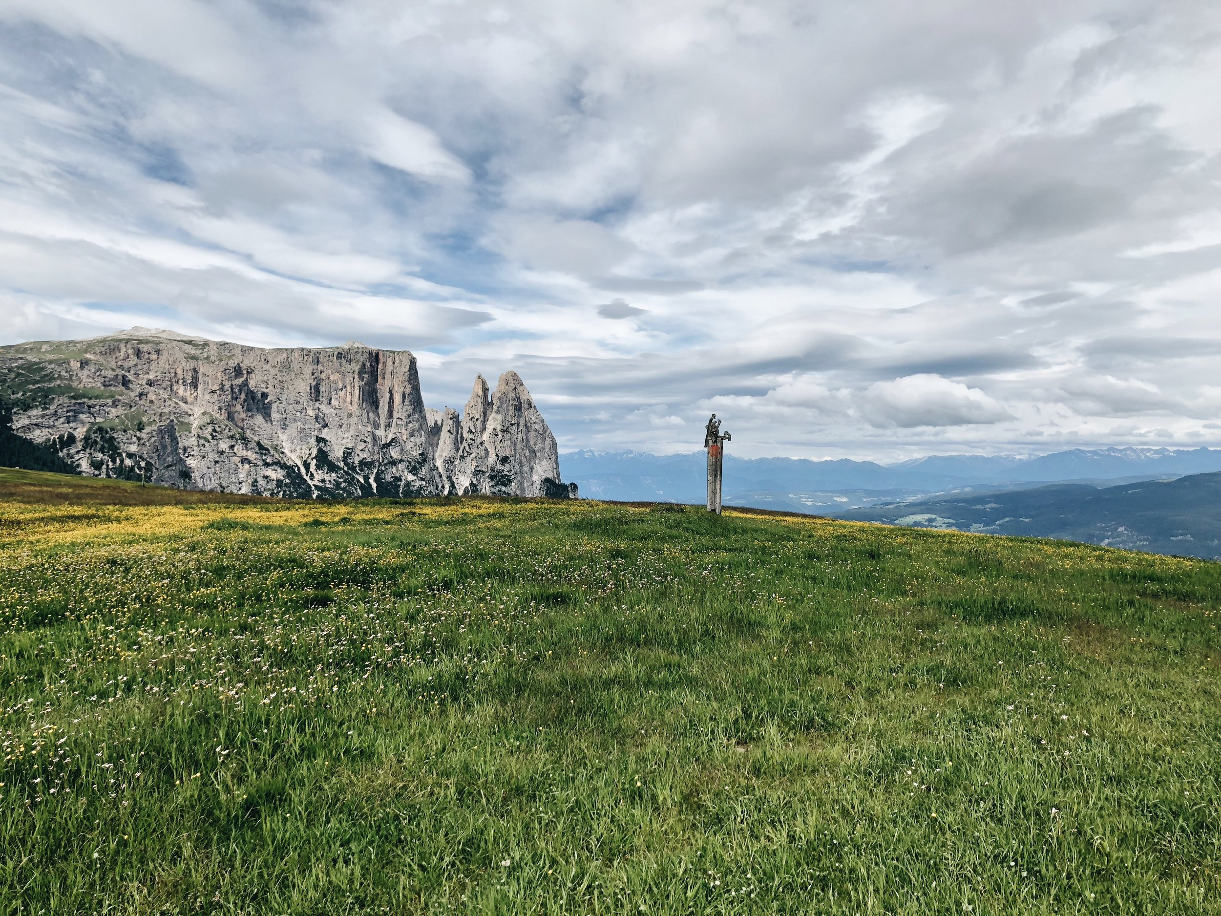 The Italian Alps. Seis, Italy. 2019.