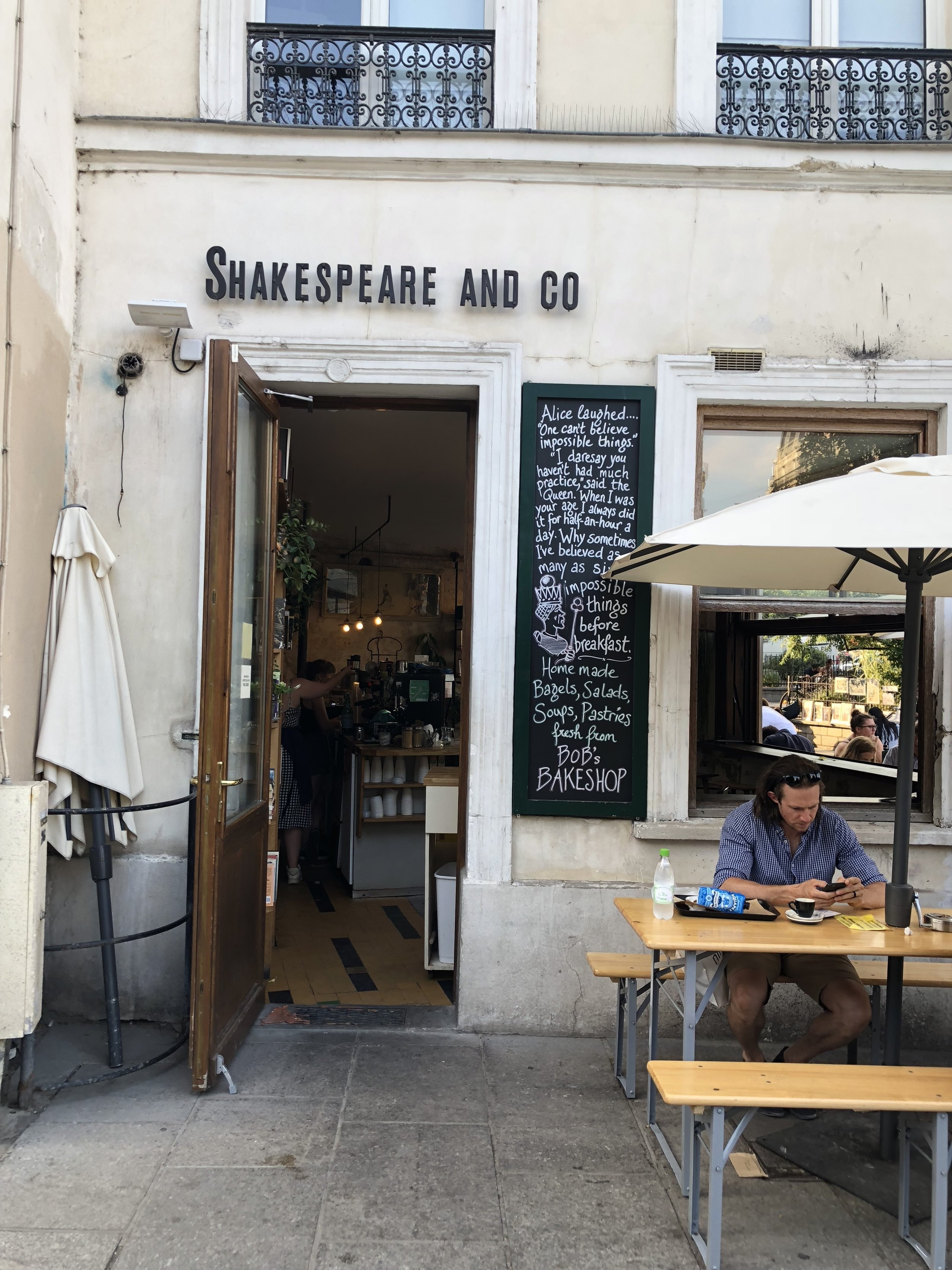 Hemingway and Shakespeare & Co.