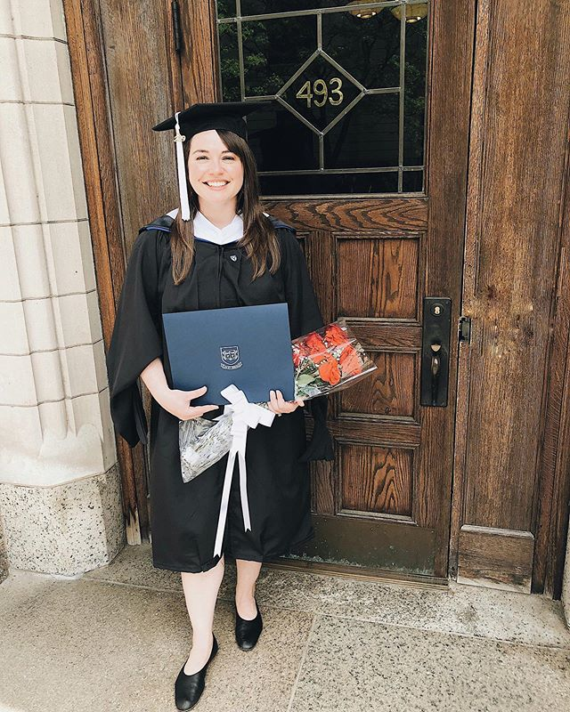 Officially received my Master of Arts degree in Sociology from @Yale University! Just four more years until the PhD. And shout out to @everlanewomen and my @everlane Day Glove flats for keeping me comfy 👩🏻‍🎓