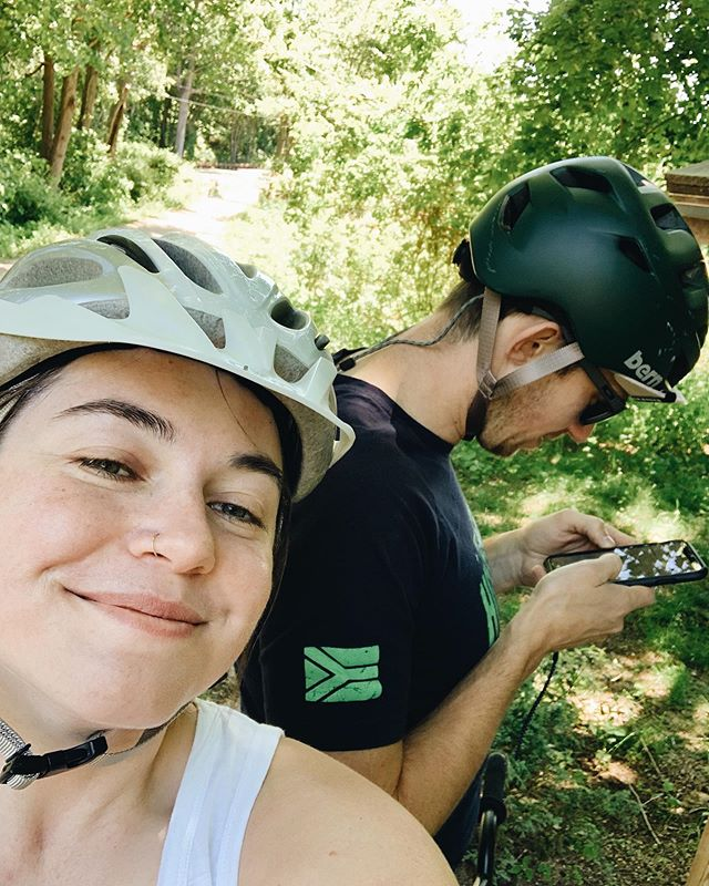 Summer bike rides ☀️ I hadn't been on my bike for more than a quick ride in too long. How has it been 9 years since my pacific coast cycling trip?