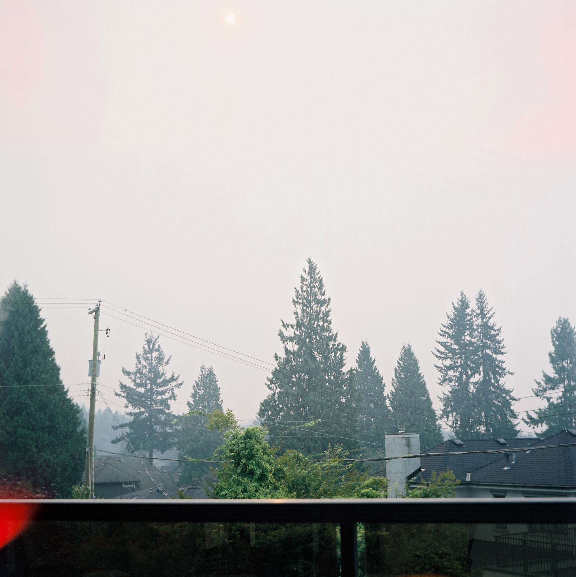 View from deck, North Vancouver 2017