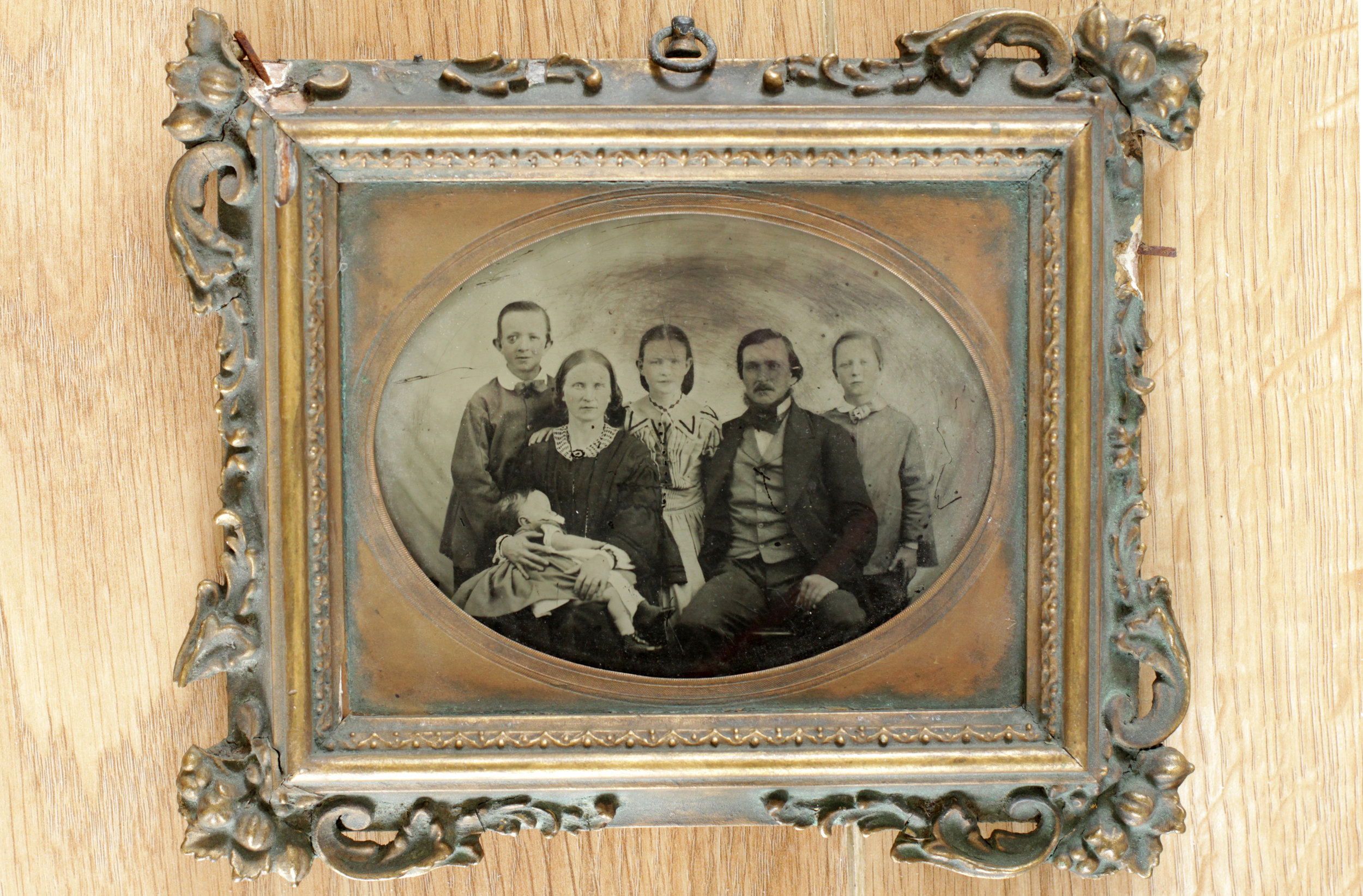 The Brooks family, 1800s