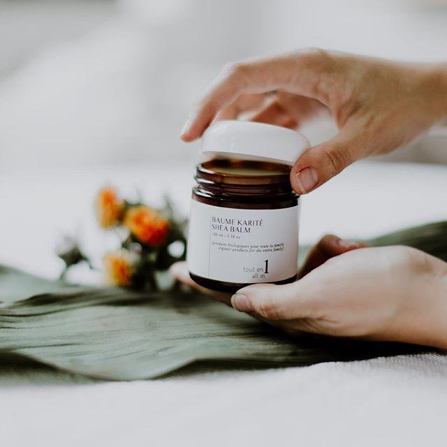 Dans les petits pots les meilleurs onguents! ✨ In small pots the best ointments! #Bër #organicskincare #sheamoisture #familyproduct #faitauquebec