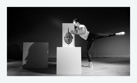 Brendan Fernandes: As One II, 2015, 15 by 9 inches, silver gelatin print. Commissioned by Seattle Art Museum. Courtesy the artist.