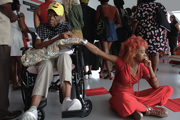 Black Women Artists for Black Lives Matter, part of  Simone Leigh: The Waiting Room , New Museum of Contemporary Art, New York, NY, July 10, 2016. © Simone Leigh; Courtesy the artist, New Museum, New York, and Luhring Augustine, New York.