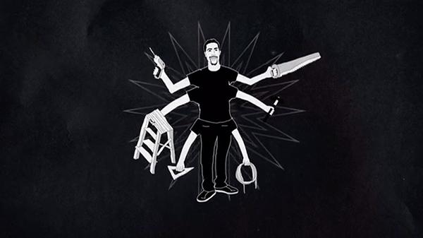 Animated still from  When They Walk  by Jason DaSilva
