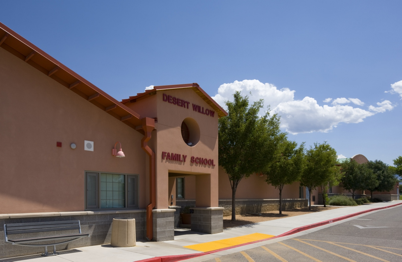 LEED Silver - Desert Willow Family School in Albuquerque NM