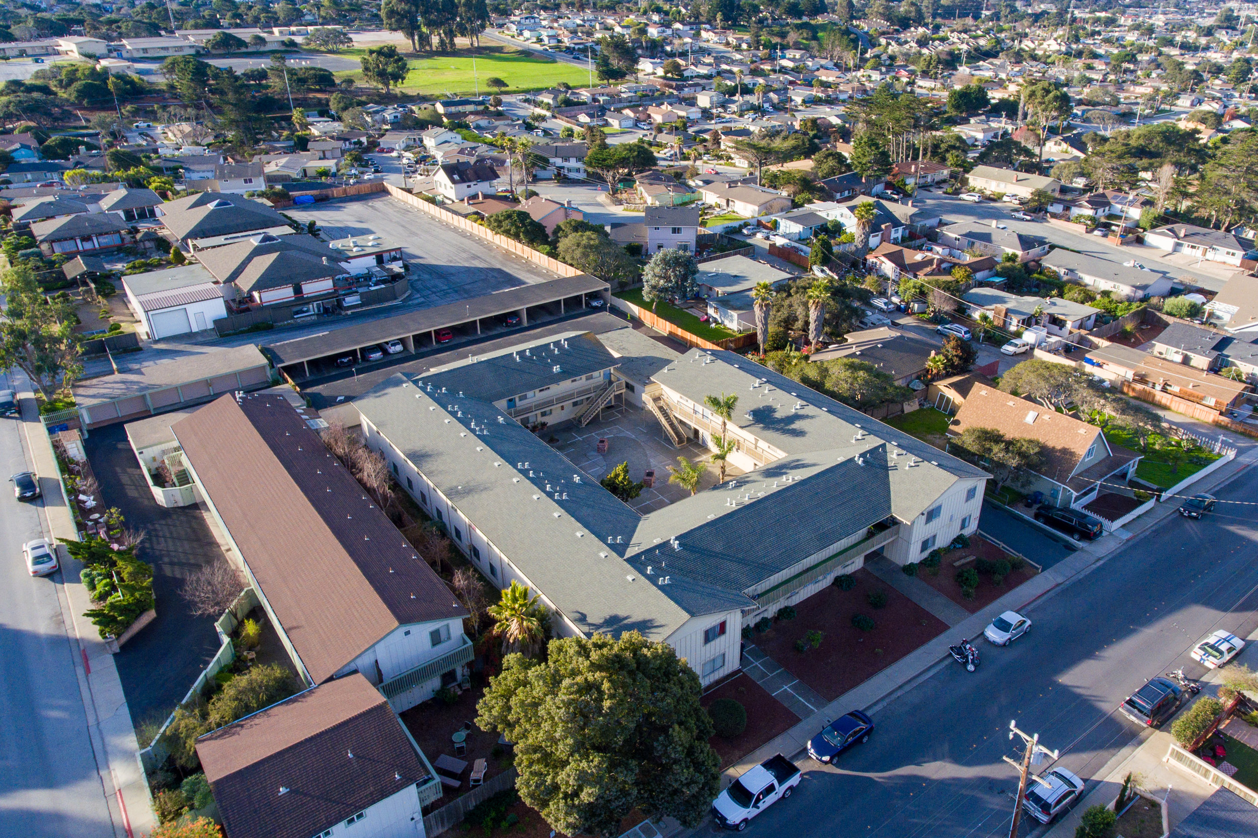 Closed March, 2019 - Garden Court Apartments | 1280 Hilby Ave, Seaside, CA32 Units | 2/1.00 (32) | Value-Add