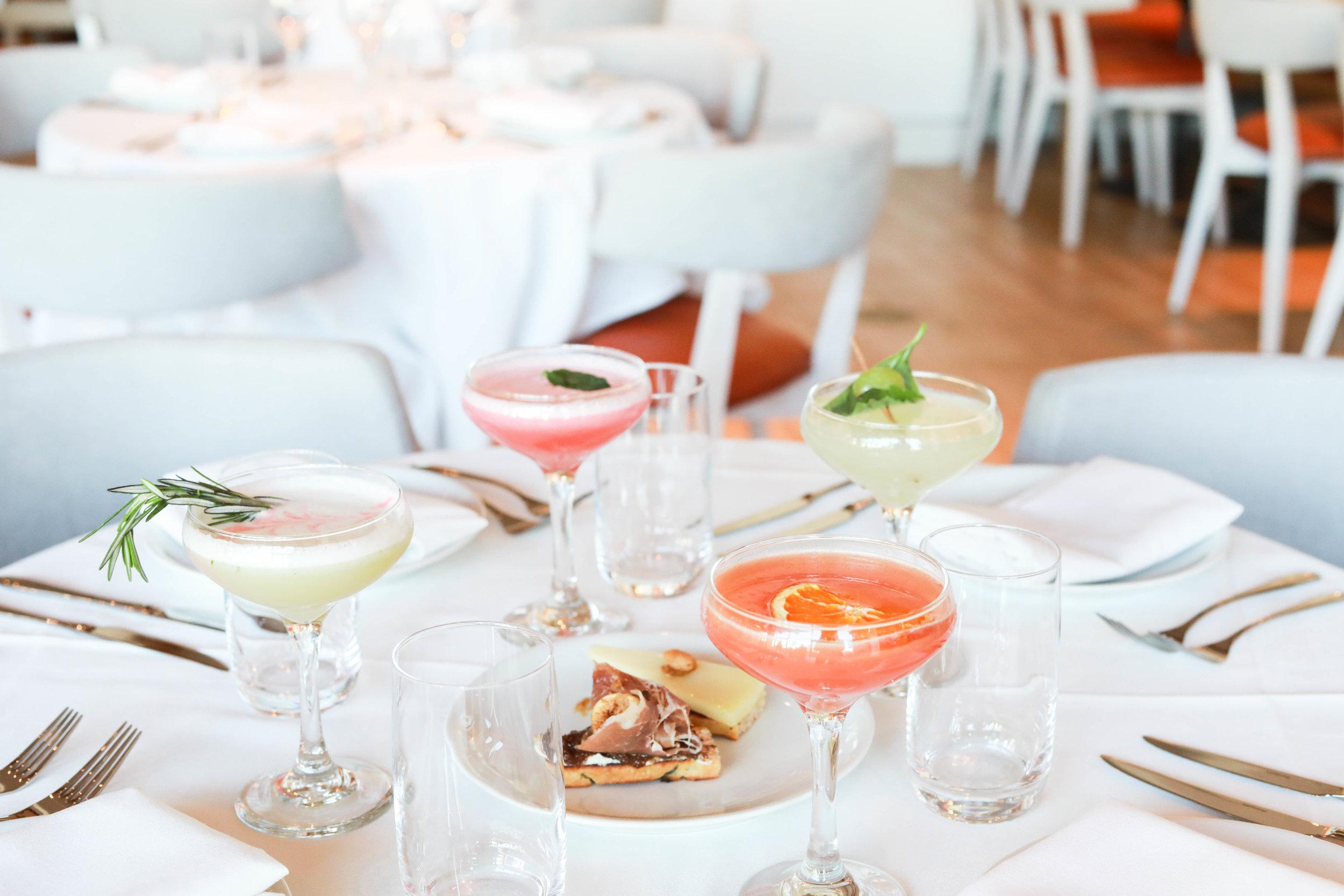 Cocktails + Crostinis