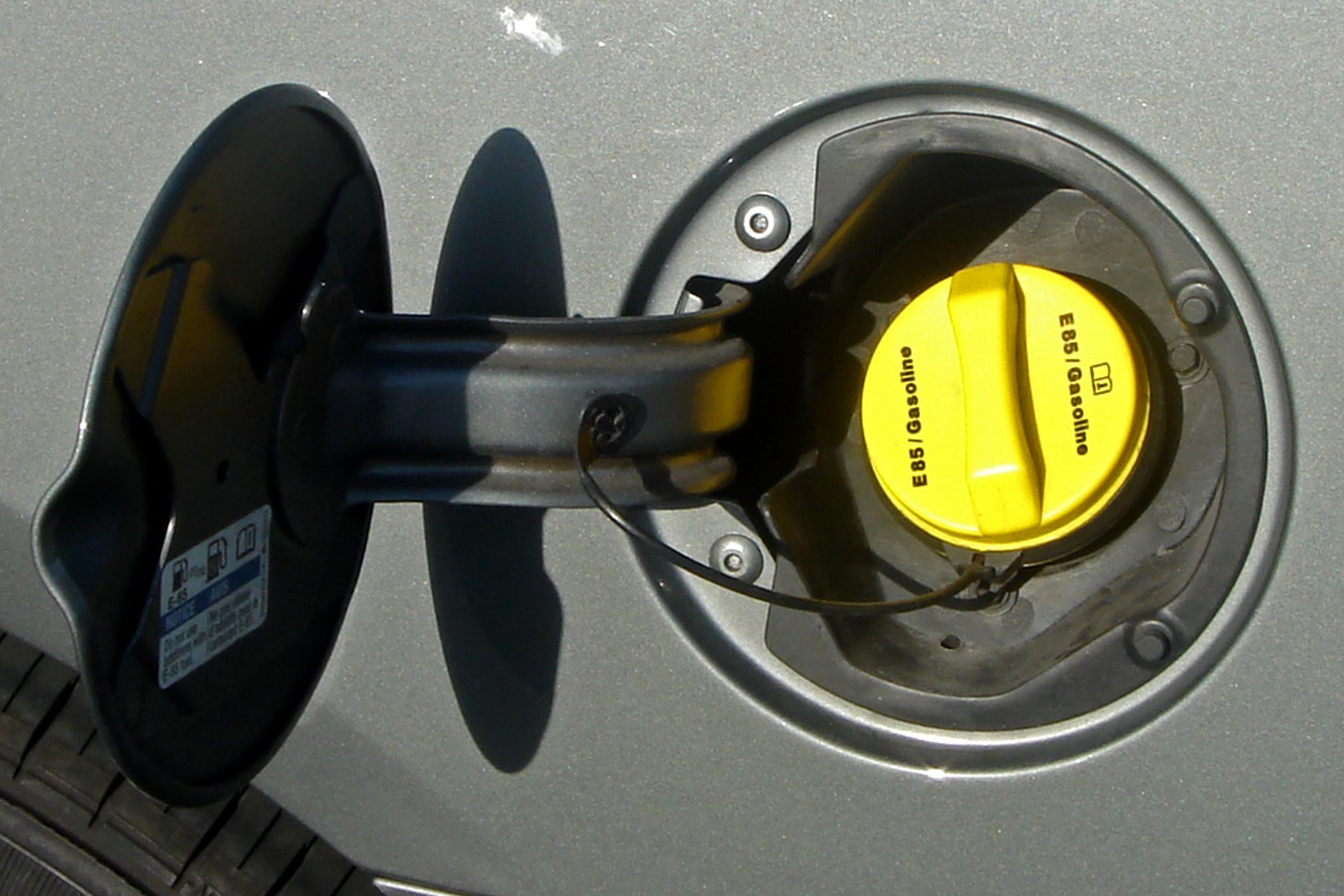 2. Pop - Pop your gas tank and lock your doors