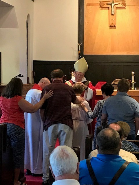 Service of Confirmation and Reaffirmation by Bishop Rob O'Neill with members from Prince of Peace Church and Saint Charles Episcopal Church