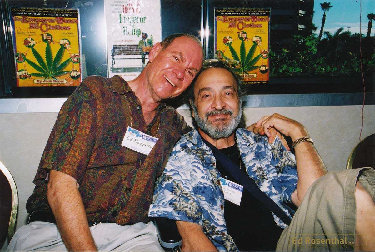 Jack Herer and Ed Rosenthal hanging out