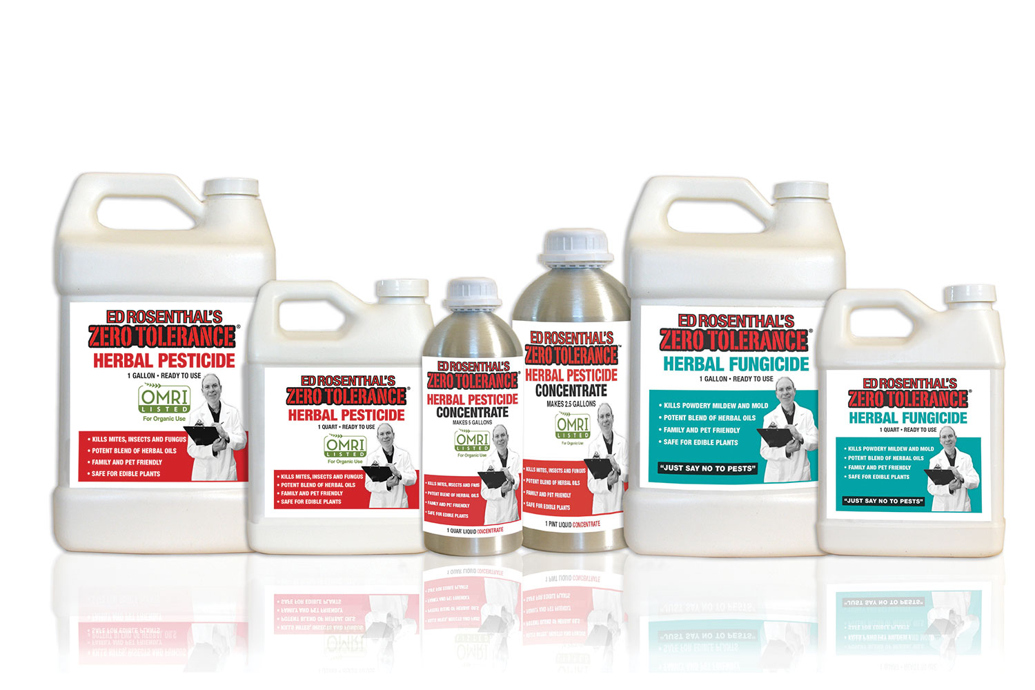 Zero Tolerance: Natural, Environmentally-Safe Garden Solutions - Pesticide and Fungicide. Made from Essential Oils. OMRI-Approved.