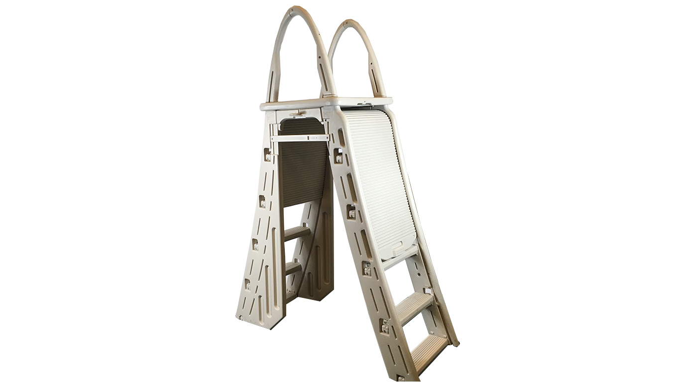 Confer Deluxe Ladder with Roll Guard  (Model 7200)