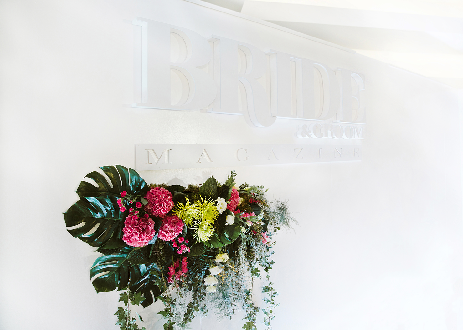 Dianna Marie-Think Flowers / Bride & Groom Magazine Fashion Show