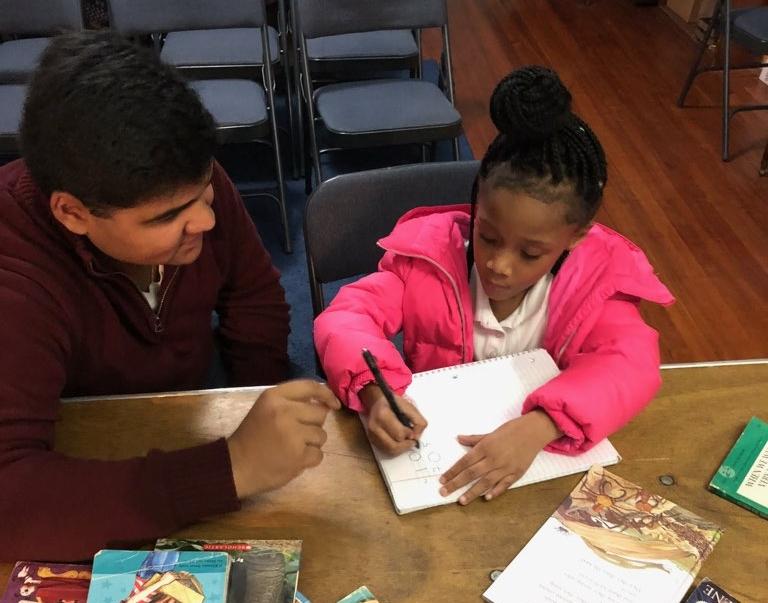 Meet Urban Revival volunteer, Shan and student, Khloe. -