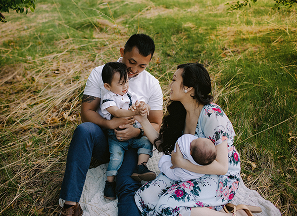 RACHEL + FAMILY