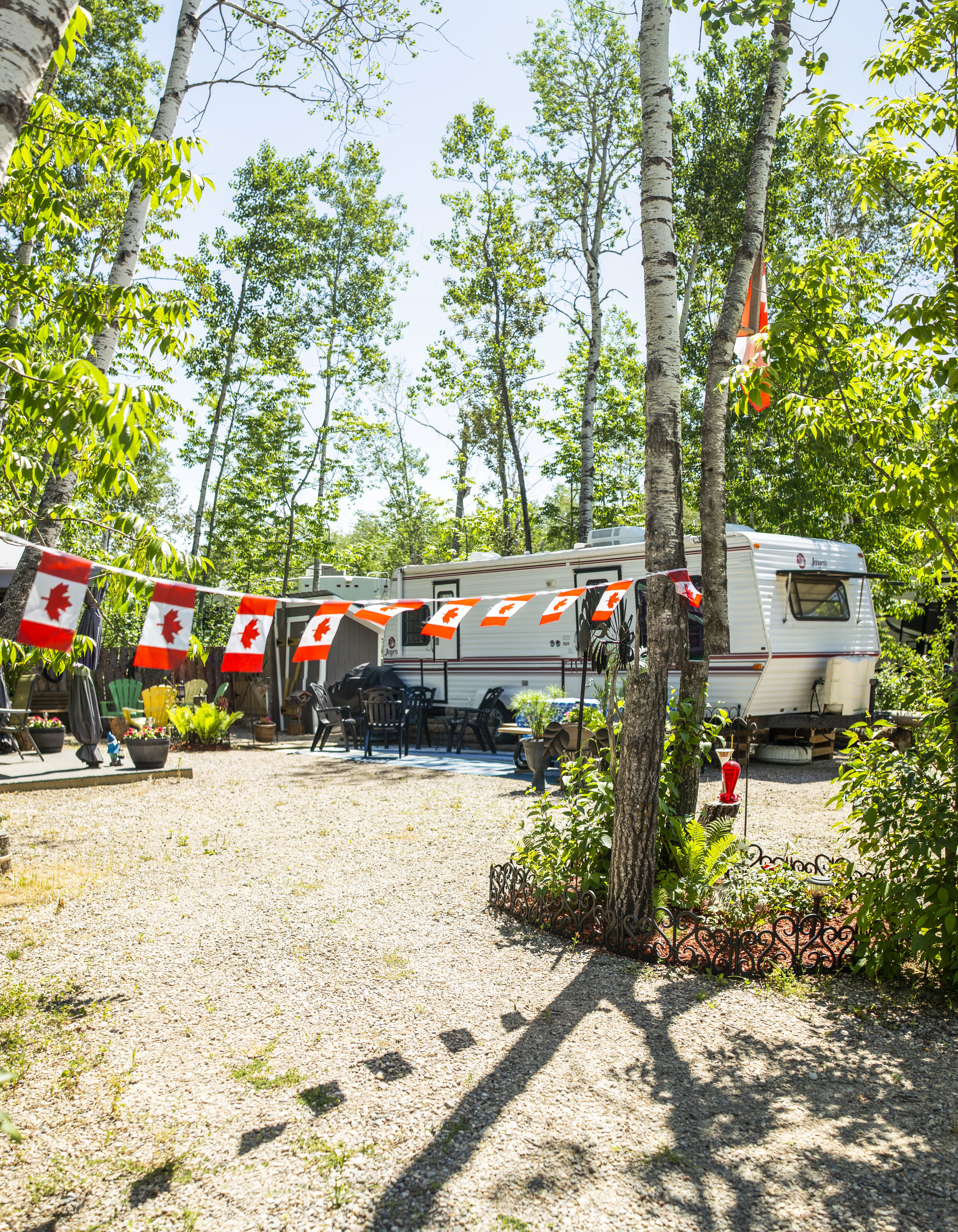 Grand Palms RV Resort Canada Day