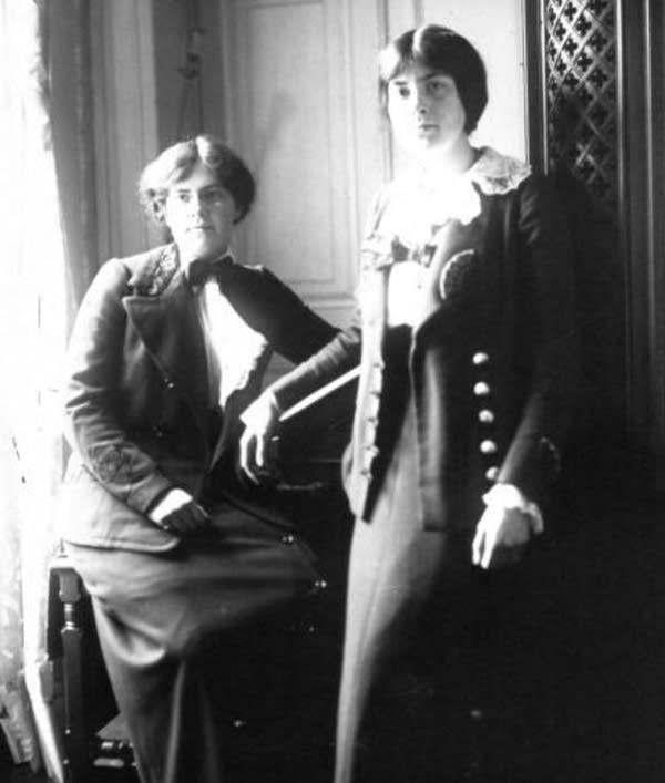 Nadia and Lili Boulanger 1913 (public domain)