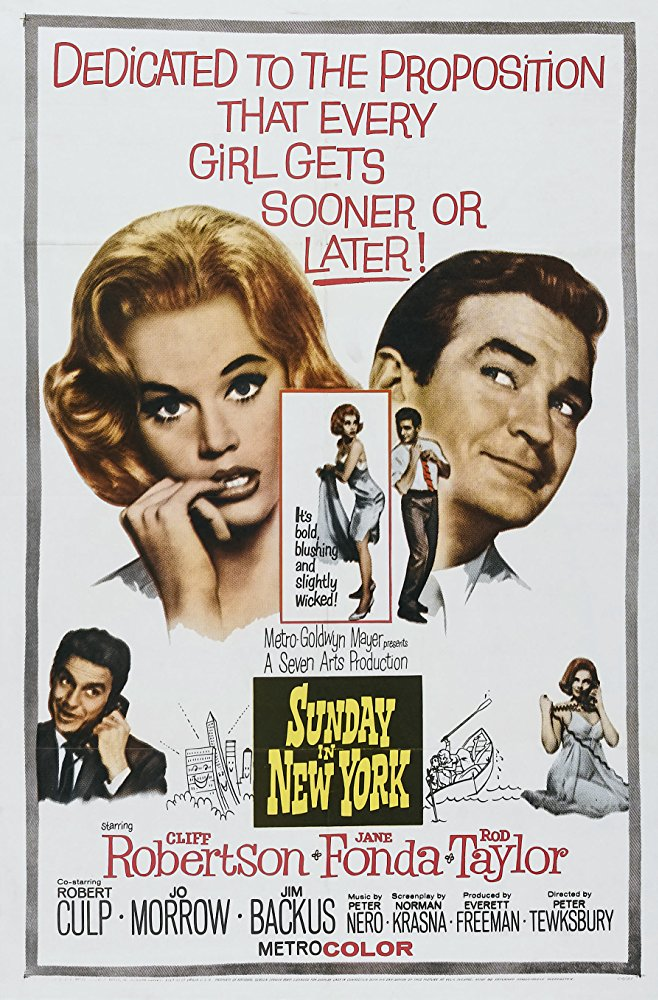 Sunday in New York 1963