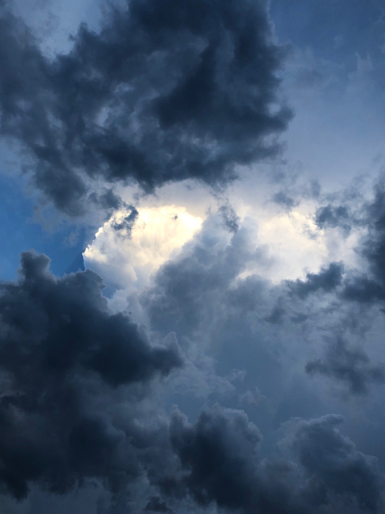 """Dark clouds become heaven's flowers when kissed by light."" ― Rabindranath Tagore"